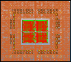 Cobra Probe Card Substrate layout