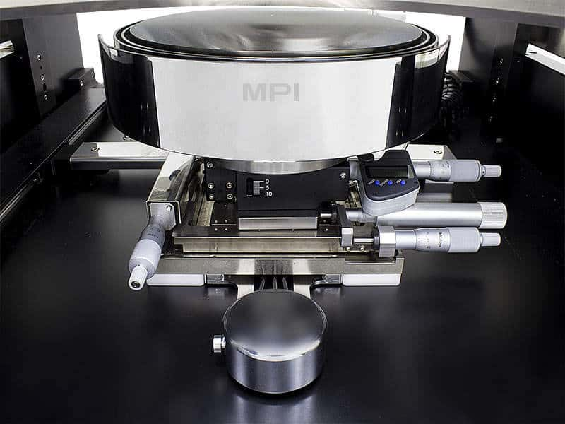 MPI TS200-THZ - Air Bearing Stage with Optional Fine-Adjustment Micrometers